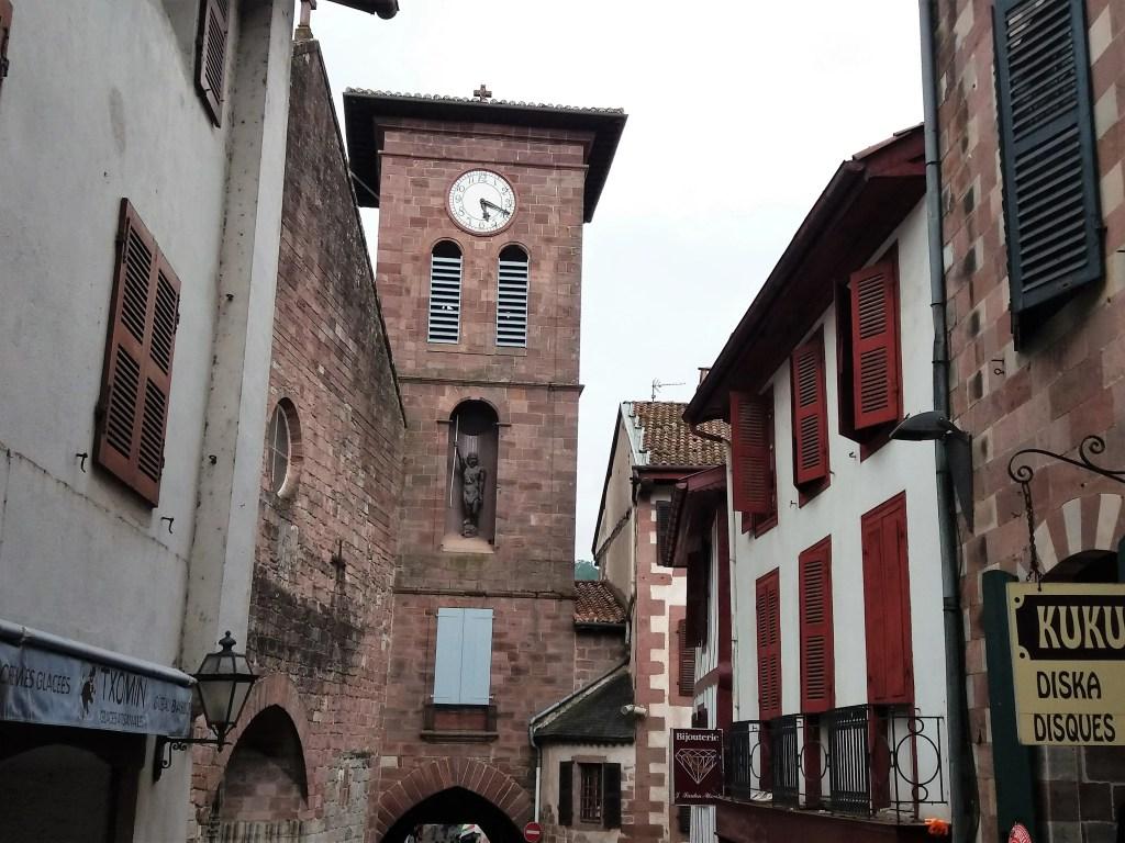 Saint jean Pied de Port ville