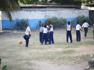 Les enfants à Zanzibar