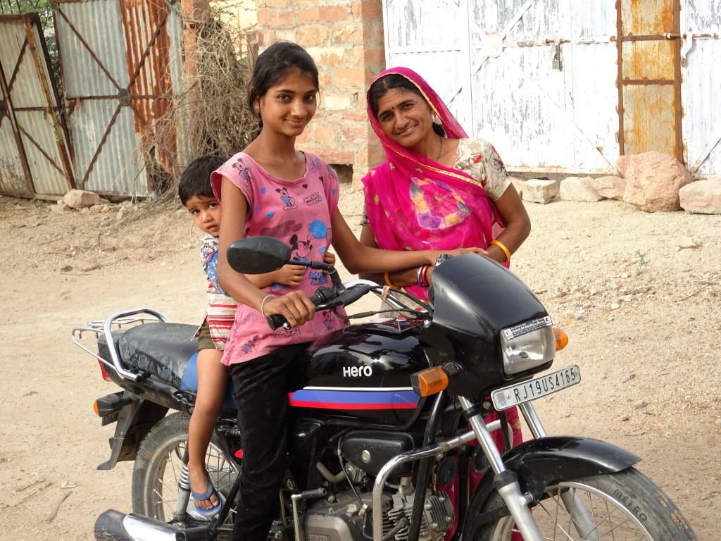 Villageois salawas en Inde