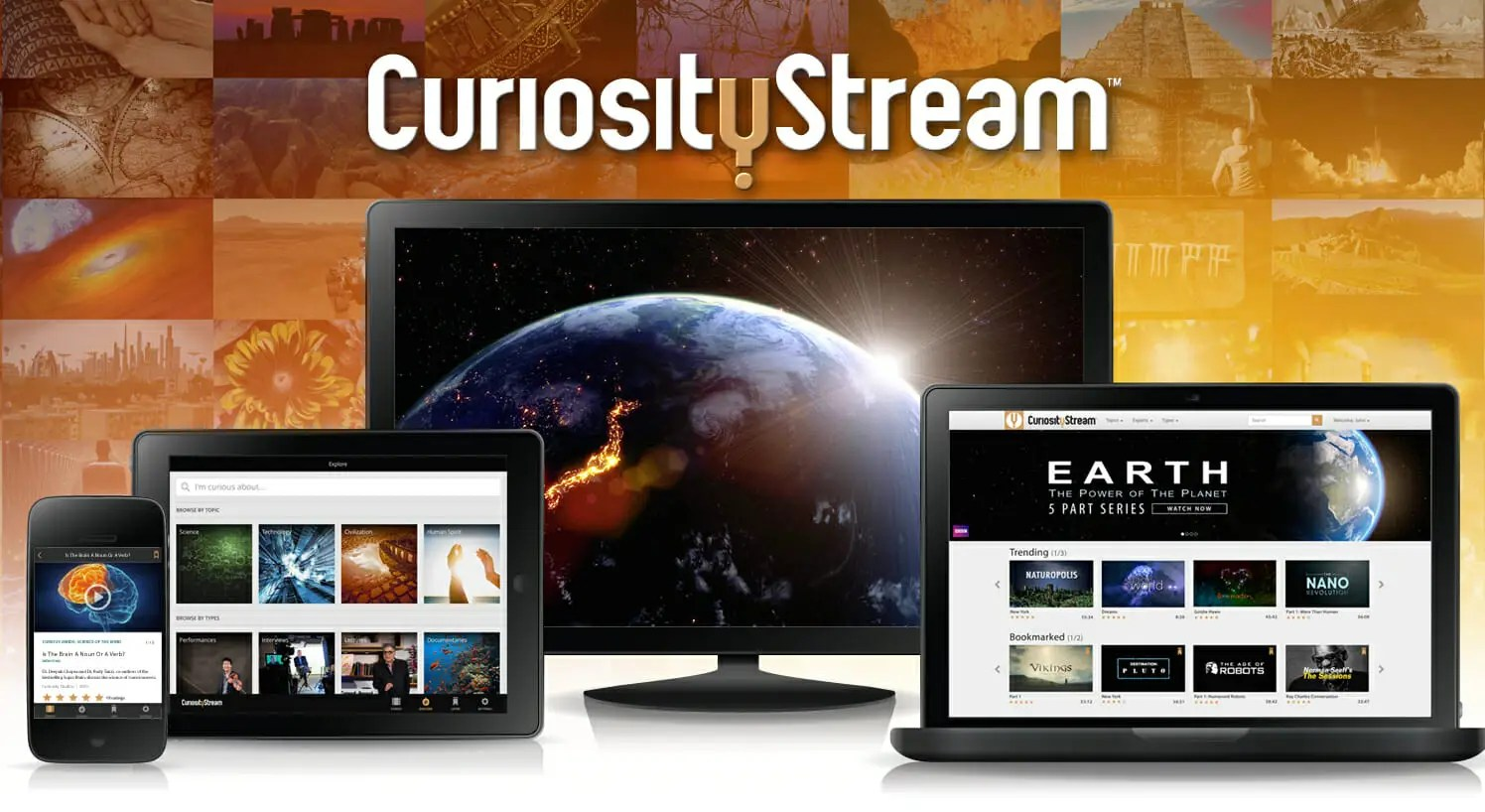 Image result for curiosity stream
