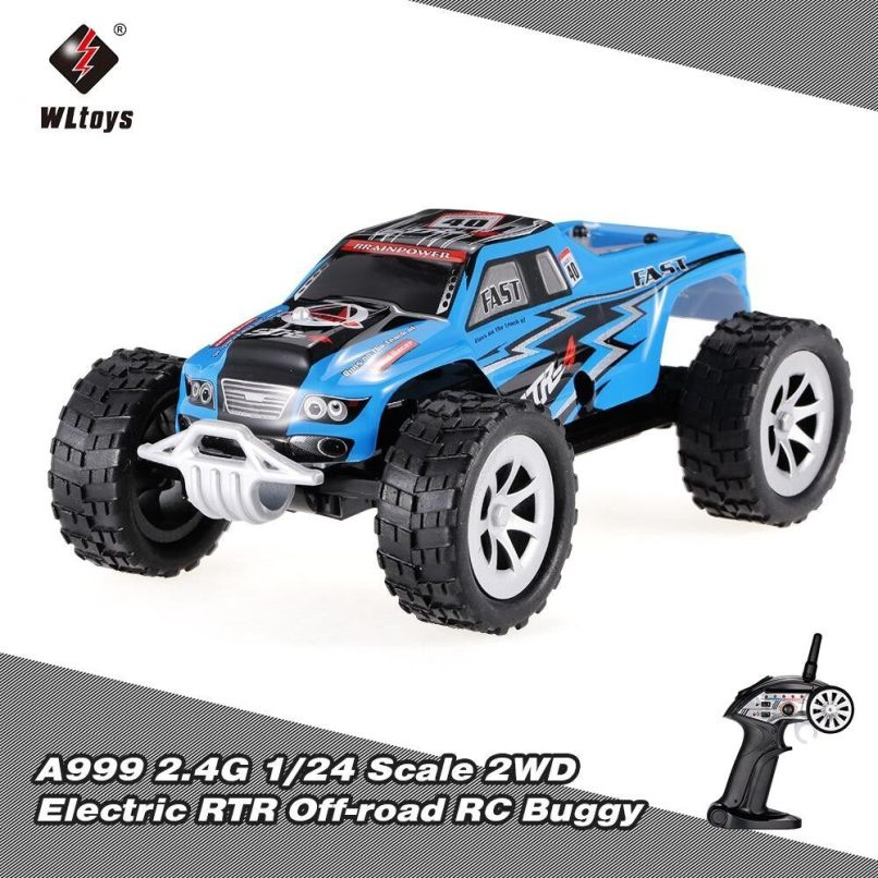 Wltoys A999 2 4g 1 24 Scale 2wd Full Sd Switch Electric Rtr