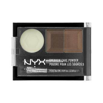 Image result for nyx professional makeup eyebrow cake powder image -pacakging