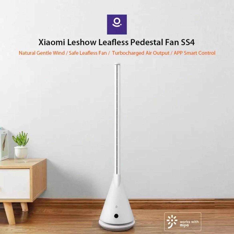 Xiaomi Leshow leafless Pedestal FAN SS4