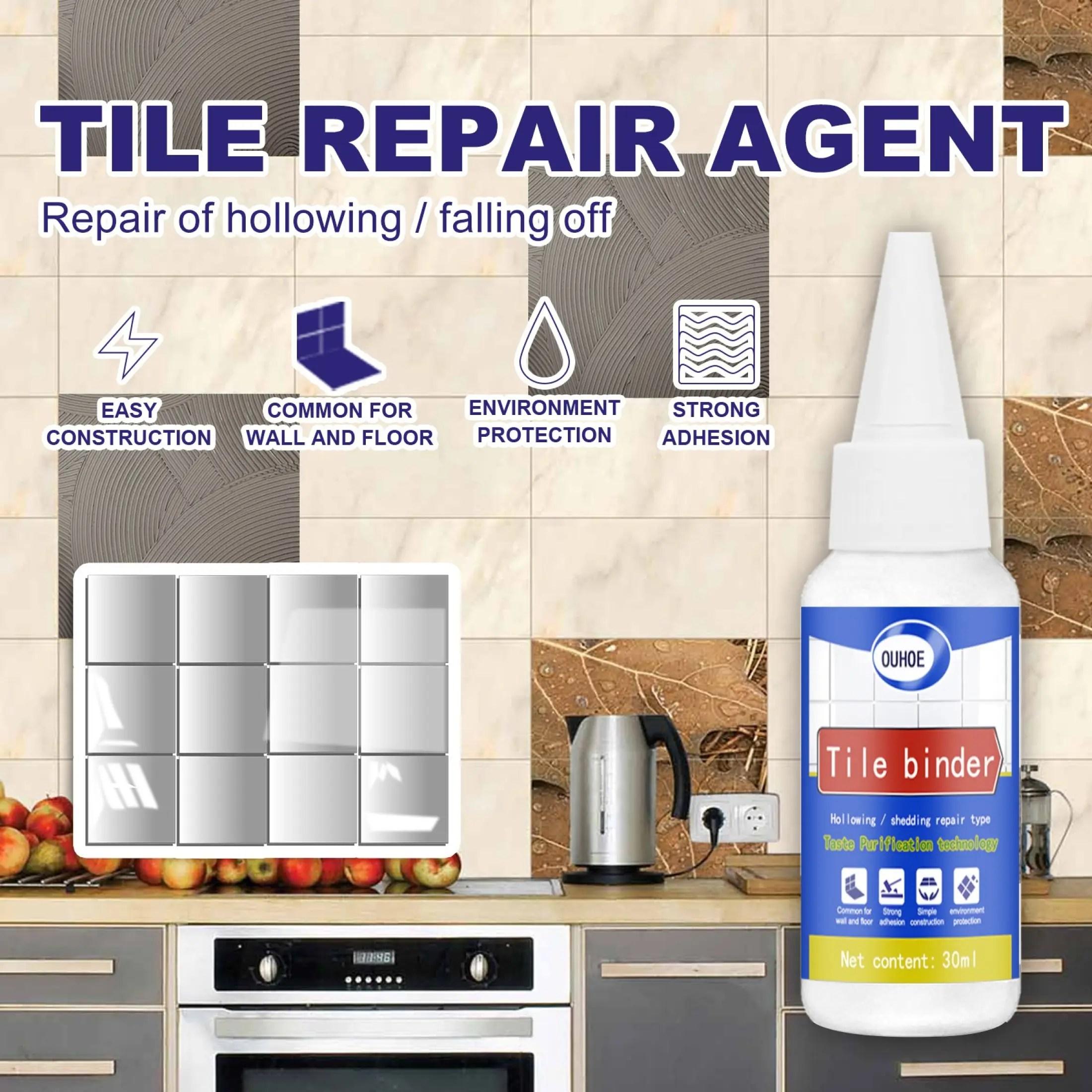 falling drum repair tile adhesive quick drying ceramic glue tile repair glue