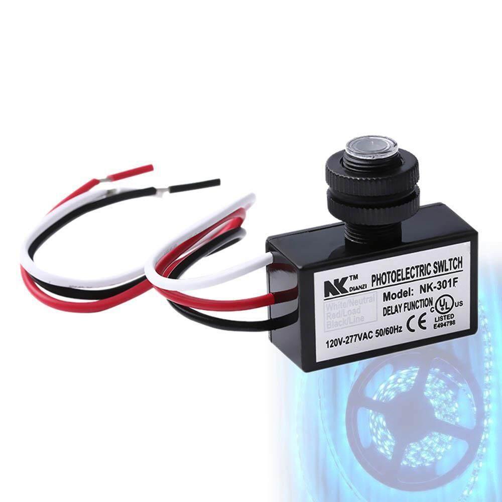 Goodgreat Multi-Volt Tombol Luar Ruangan LED Mata Kontrol Foto, Sensor Cahaya, otomatis Lampu LED Sakelar Sensor Outdoor Senja Hingga Fajar Photocell Switch