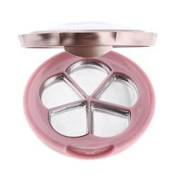 Colxi 5 Slot Tempat Eyeshadow Kosong Bubuk Blush Kontainer DIY Kotak Tempat Lipstik Kosmetik