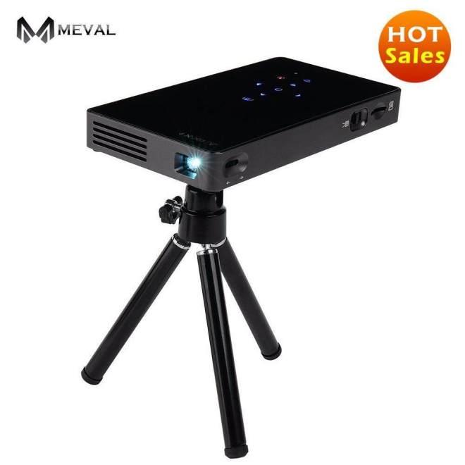 Meval P8 Mini Proyektor HDMI 1080 P HD Rendah Harga Rumah Cinema 1080 P Penuh HD Pintar Projector HDMI 1080 P 1G/8G Rom-Internasional