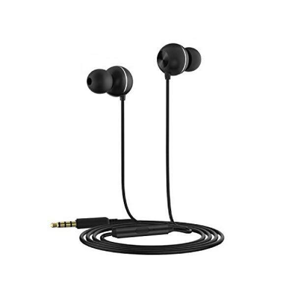 Berkabel Earphones dengan Mikrofon Di Telinga Earbuds Headphone 3D Mengelilingi Suara Kebisingan Cancelling Bagus untuk Game Menonton Film untuk iPhone ipod Ipad MP3 Samsung Android Smartphone Oleh Oaao-Internasional