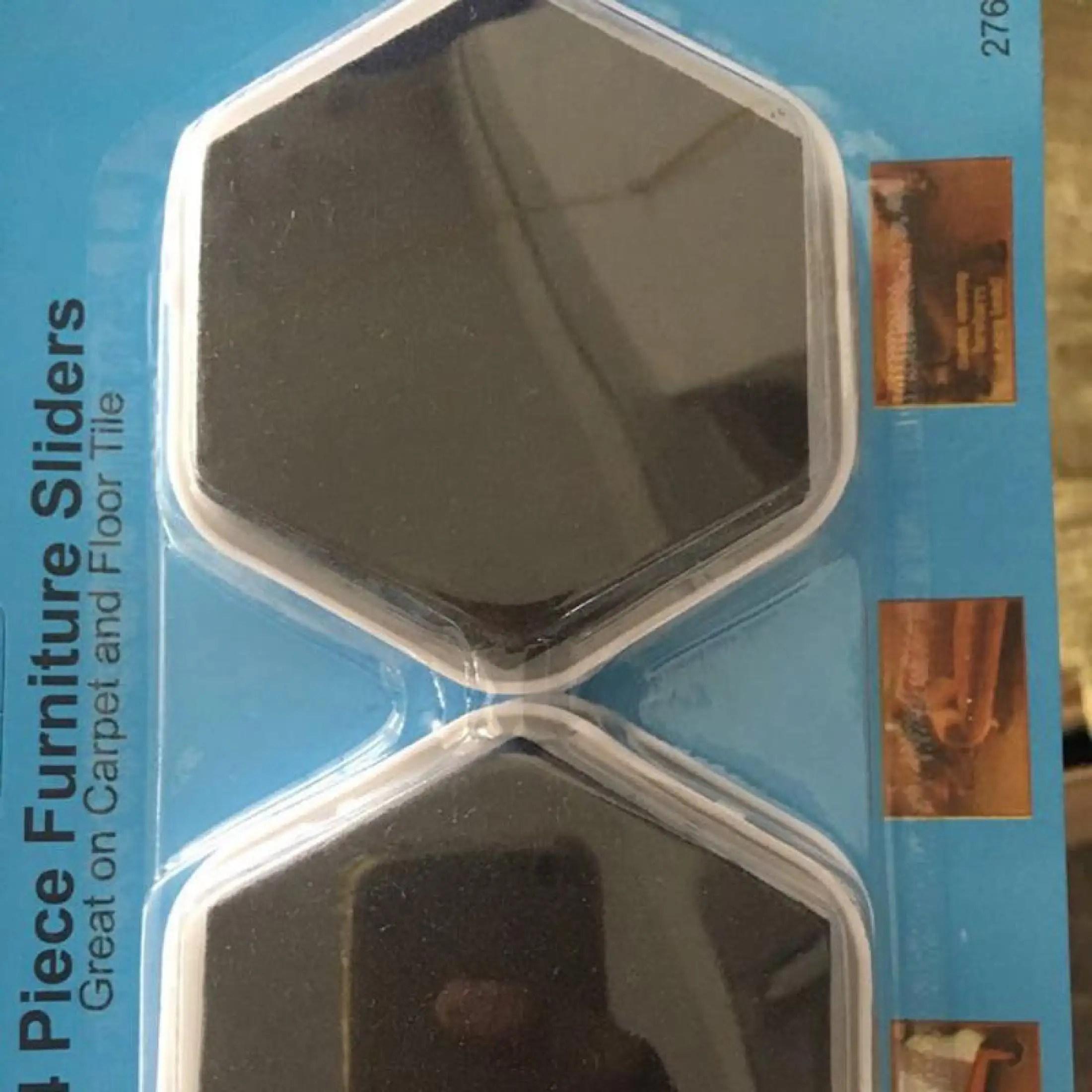 8pcs magic furniture slider pads heavy movers floor protector carpet tile wood