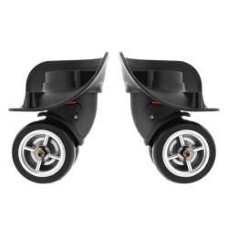 Kloware Koper Putar Bagasi Roda Pengganti Bagasi untuk Perjalanan 1 Pasang