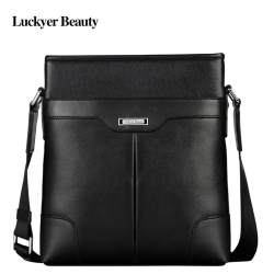 LUCKYER BEAUTY 2017 New Designer Famous Brand Men Genuine Leather Crossbody Bag High Quality Male Crossbody Shoulder Bag Men Casual Messenger Bag - intl