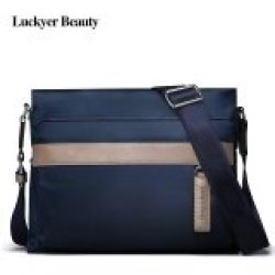 LUCKYER BEAUTY High Quality Men Crossbody Bags School Nylon Bags Male Casual Style Men Travel Shoulder Bags 2017 New Design