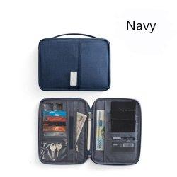 Ai Rumah Tas Paspor Pemegang Paspor Tiket Pelindung Lengan Tas Penyimpanan Perjalanan Tahan Air Di Luar Negeri Tas Dokumen Multi-tujuan