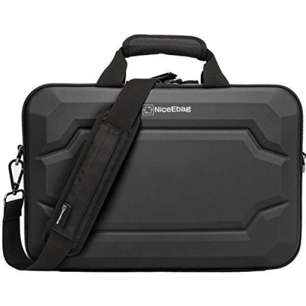 NiceEbag EVA Multi-functional Briefcase Multi-compartment Handbag 15.6 inch Laptop Case Messenger Bag Include shoulder strap For Macbook / Acer / HP / Dell Alienware / Lenovo / Men/Women - intl