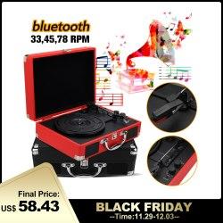 Koper Pemutar Rekaman Bluetooth 3W Koper Pemutar Rekaman Bluetooth 3W 3 Kecepatan