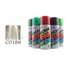 Anchor Aerosol Spray Paint 400ml C018 Chrome