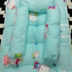Hello Kitty Newborn Baby Mattress Set 4 In 1 Cartoon Living Sleeping Safely Baby Bedding Set For Baby Travel Topper Pillow Bolster Baby Tilam Set Konki Mm
