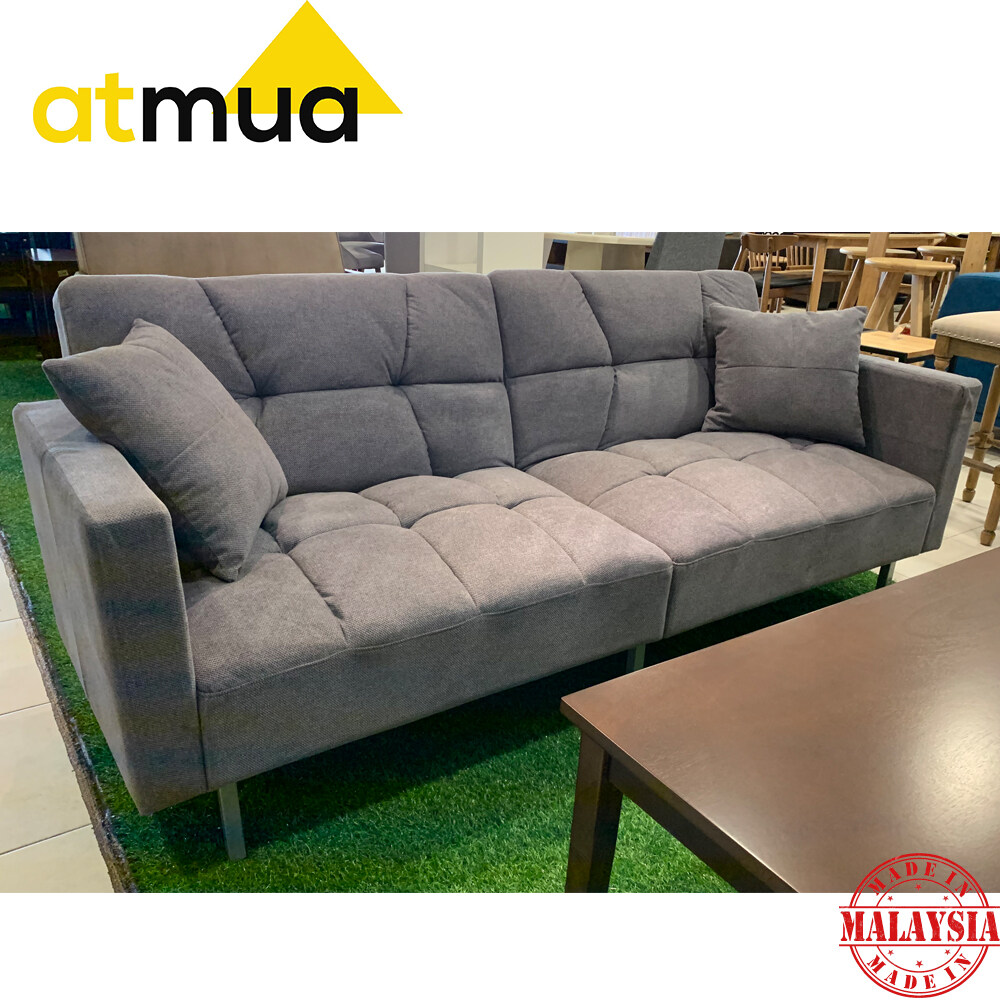 atmua perfect sofa bed 4 seater recliner sofa super single bed suitable for homestay strong and sturdy materia free 2 small pillow