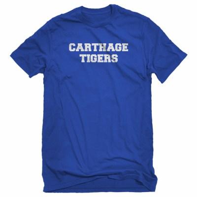 Lynn Bilalli Carthage Tigers Jersey T-Shirts