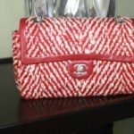 Chanel Handbag #13 – Red&White Tweed