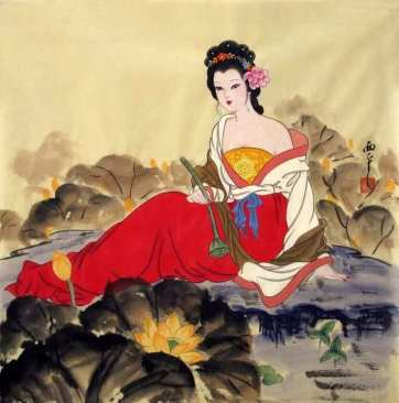 asian-painting-luxury-35-best-traditional-chinese-painting-beautiful-women-of-asian-painting