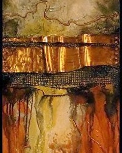 mixed_media_geological_abstract_painting_fusion_iii_by_colorado_mixed_media_artist_carol_nelson_11
