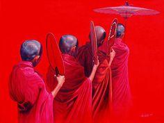 a23658b7284c5778953169fd1cd3b921--buddha-painting-oil-canvas