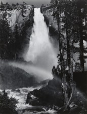 Nevada-Falls-Yosemite-National-Park-c.-1947-Gelatin-silver-print-printed-1960-Signed-on-recto-numbered-on-verso-9.5-x-7.25-inches