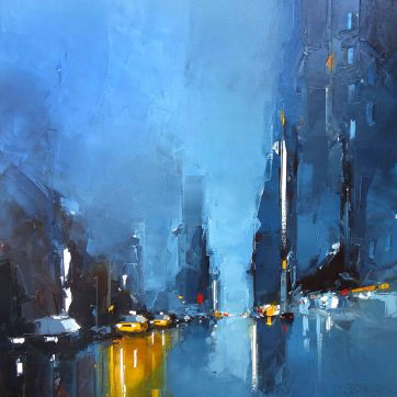 unique-contemporary-artwork-daniel-castan-blue-abstract