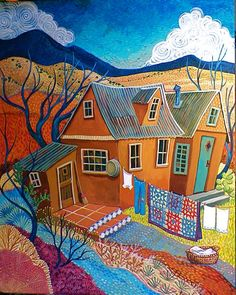 749b2874357c3fbdde7bc97dea57674c--art-houses-house-art
