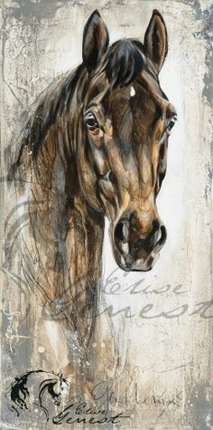 8f03c9fe76295a33c52da9ee85a9c916--equine-art-elise