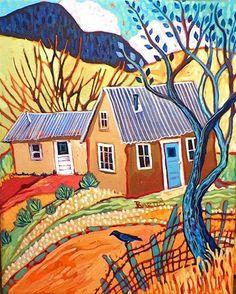9c527d0f1f41b0c3ba1572473148f58e--cottage-art-storybook-cottage