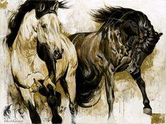 bdffdb7e691094ff614af03b58fbdb51--tableau-art-horse-paintings