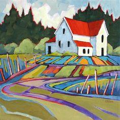 fb7552ce8e8de68d64b17bf0d632f386--house-paintings-landscape-paintings