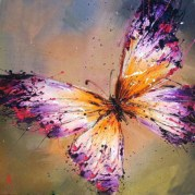 Hand-Painted-Wall-Art-Paintings-for-Home-Decor-Handpainting-Modern-Beautiful-Canvas-Picture-Different-Butterflies-Oil