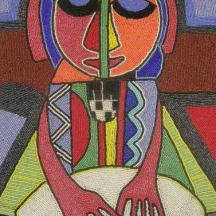 Tittle__Music_for_money_Medium_Bead_painting_Size_20x13inches