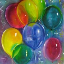 happy_birthday_micah_balloons_oil_painting_by_linda_mccoy