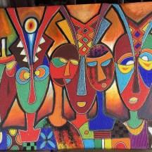 nigerian bead art by Jimoh Buraimah