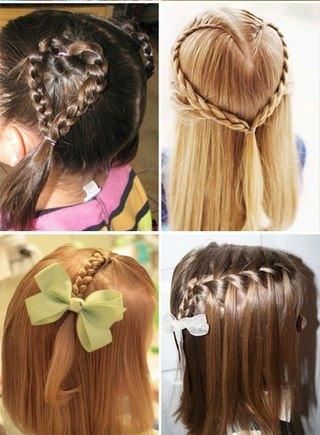Прически для девочек на длинные волосы15