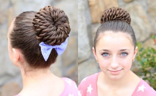 Прически для девочек на длинные волосы22