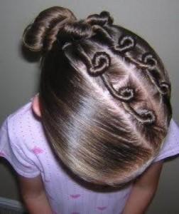 Прически для девочек на длинные волосы23