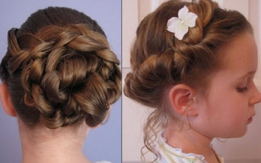 Прически для девочек на длинные волосы34
