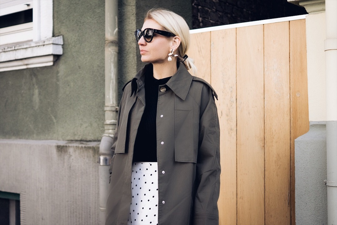 How to wear your trenchcoat now?