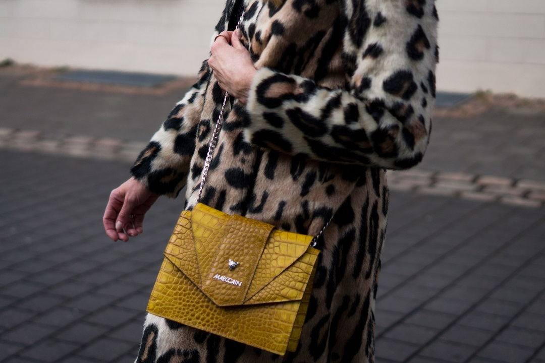 Marc Cain Bag and STAND leo coat