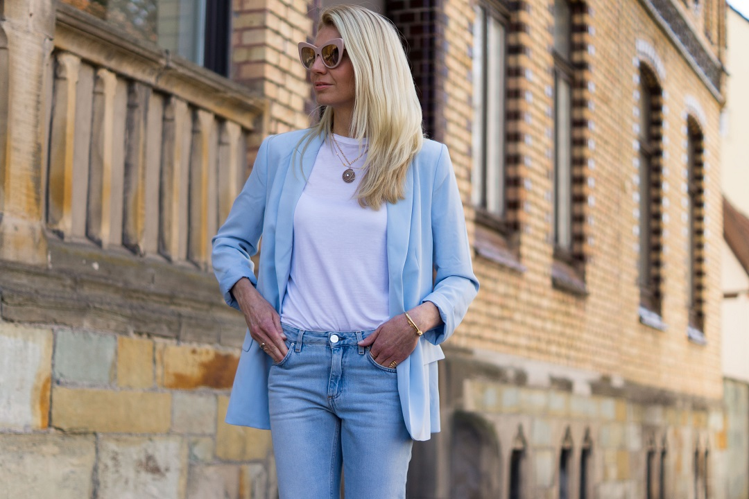 spring styles and how to wear a blazer now