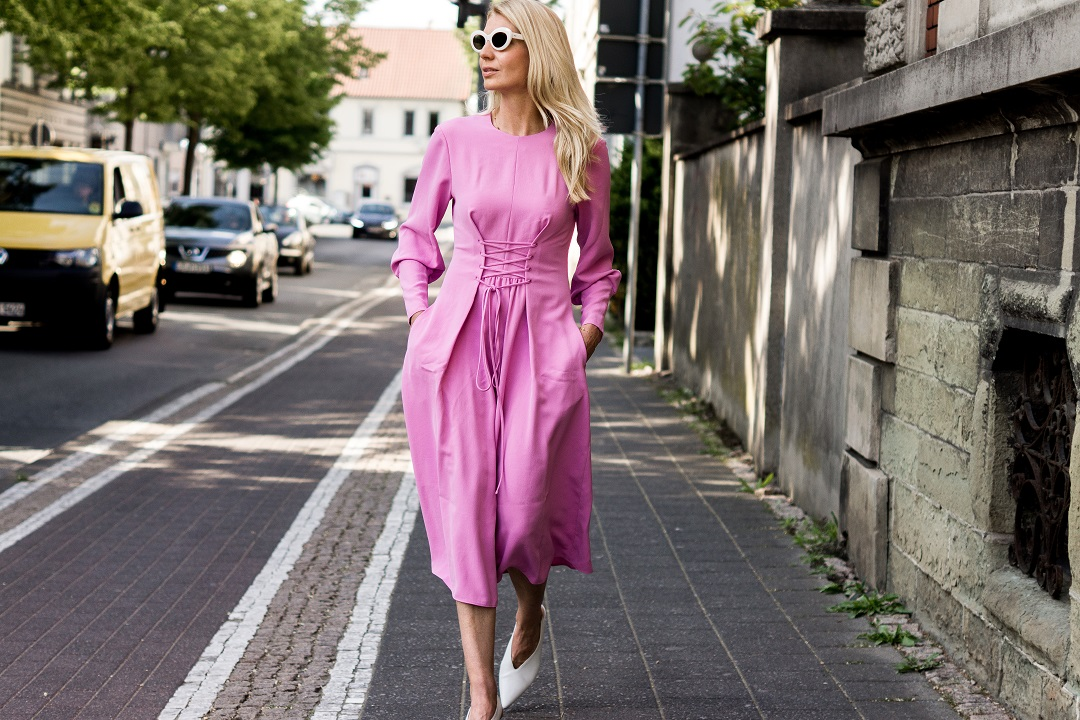 tibi Kleid Denise Buschkühle