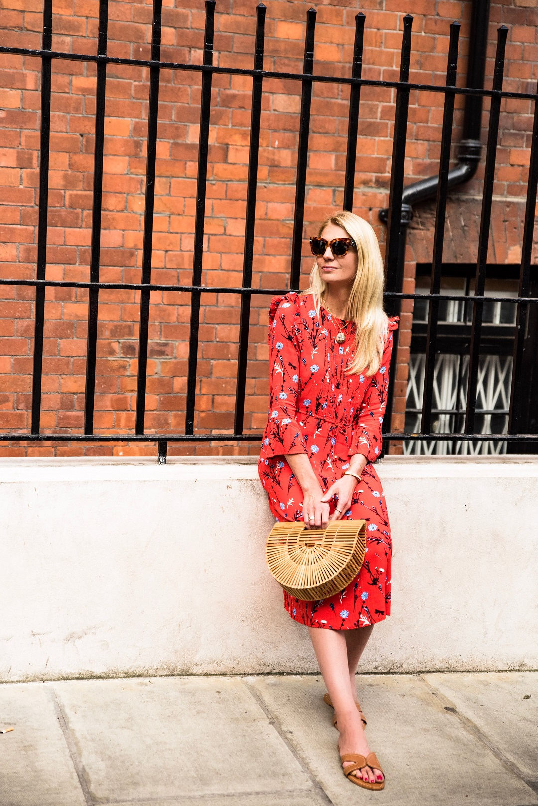 the red summer dress Tom Tailor