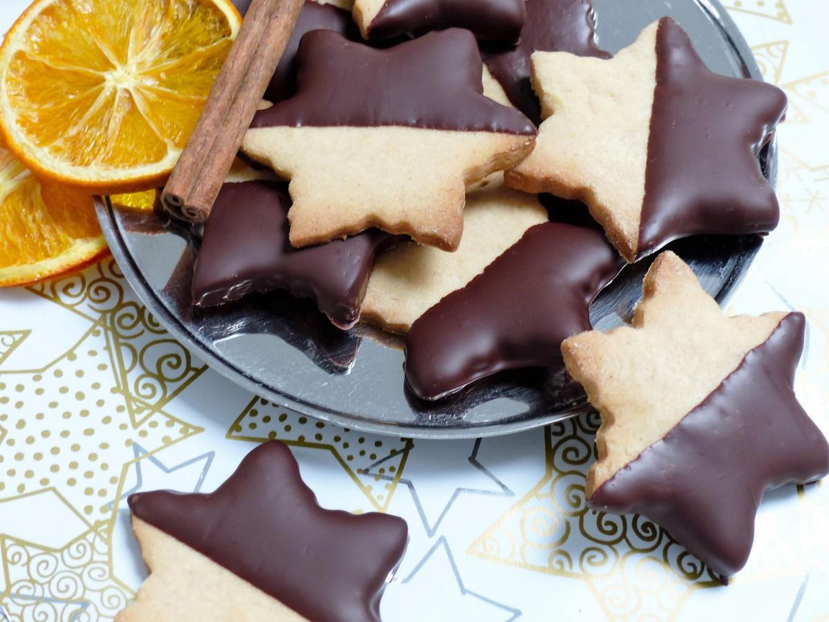 Weihachtsbäckerei - Orangen - Zimt - Sterne