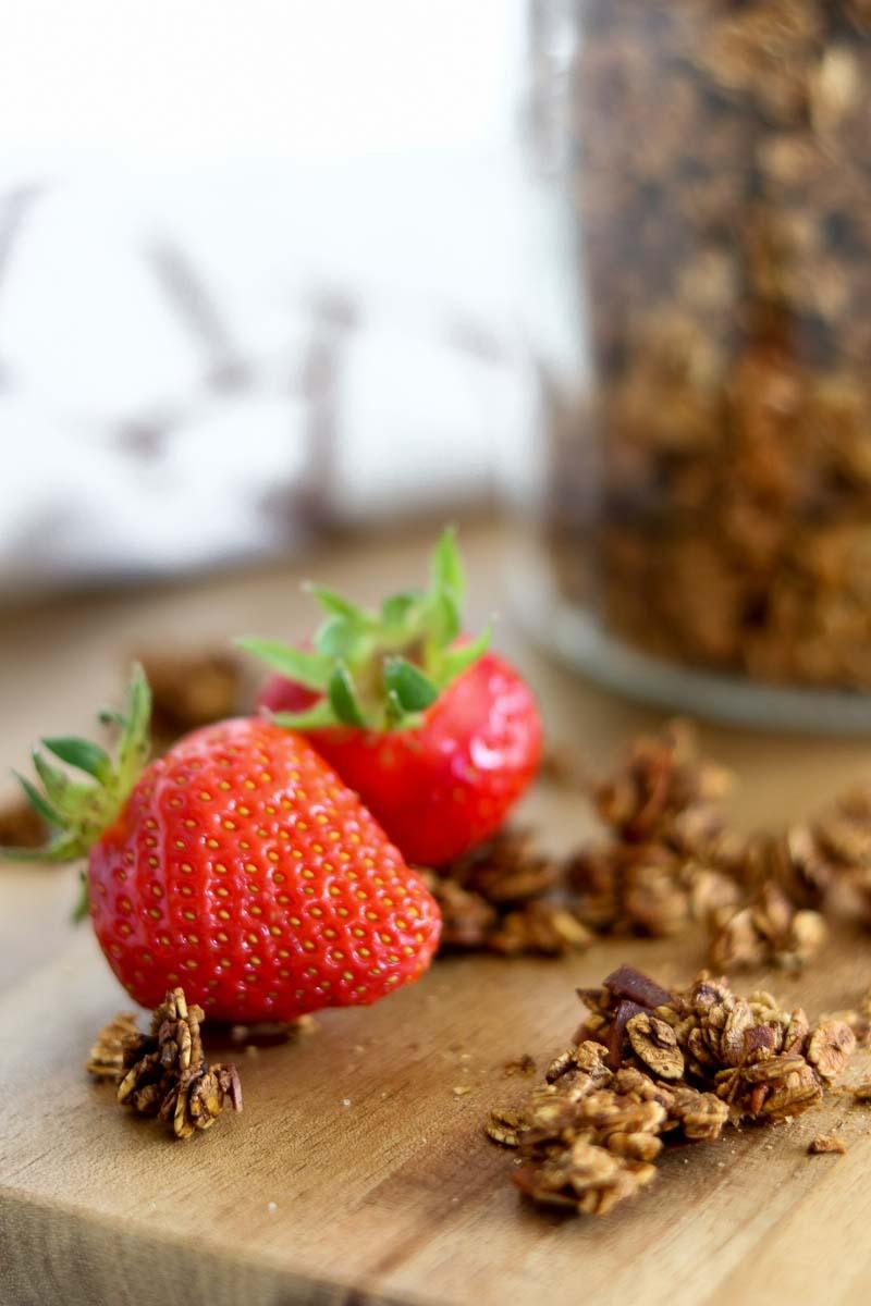 Granola, Rezept, selber machen, rösten, homemade, Müsli, Frühstück