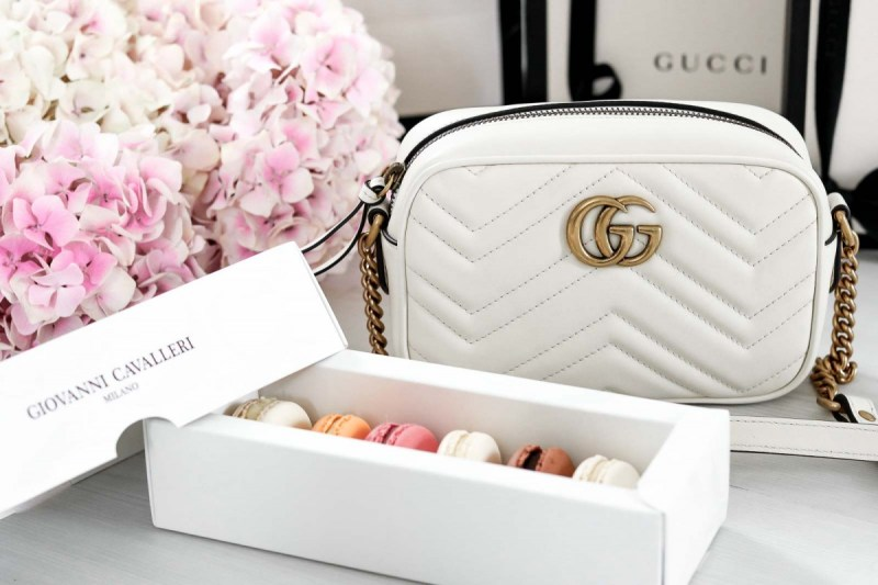 Gucci, Bag, Unboxing, Marmont, Crossbody, Shopping, Milan